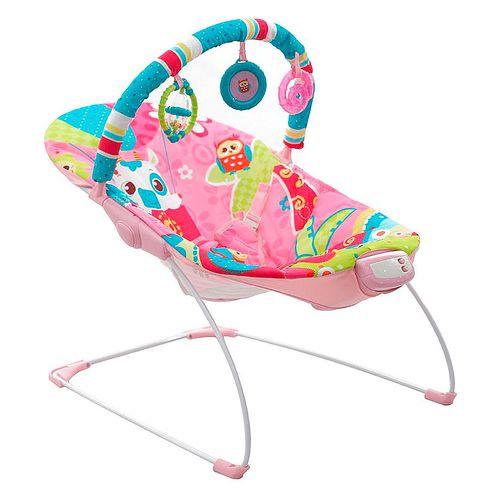 Silla mecedora p/bebe con musica