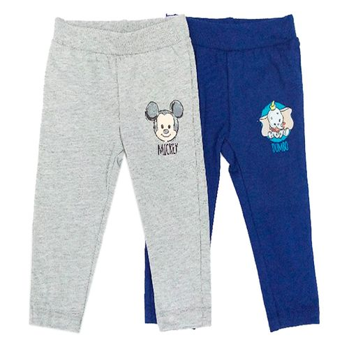 2 pack pants - dumbo y mickey
