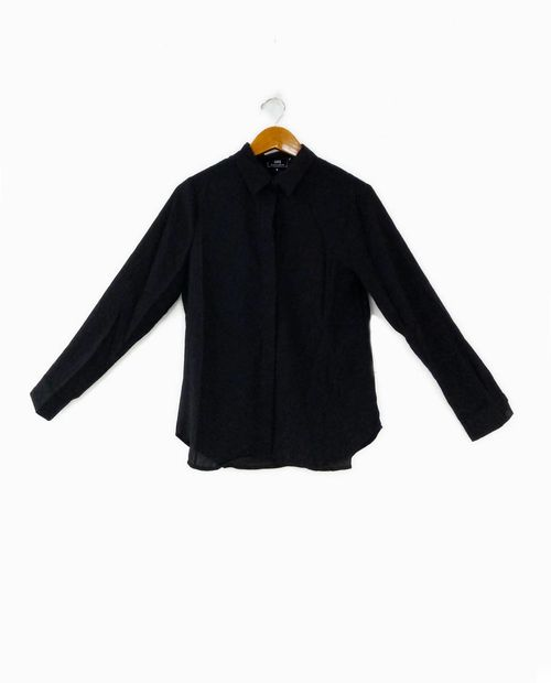 Blusa  negra  solida