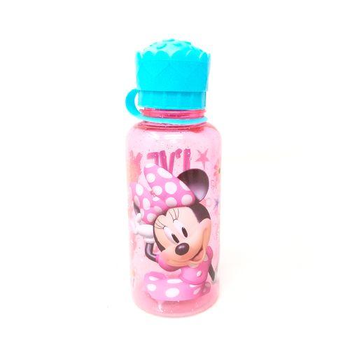 Botella con tapa de forma minnie