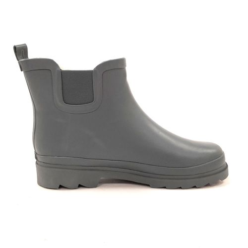 Bootie charcoal grey para lluvia
