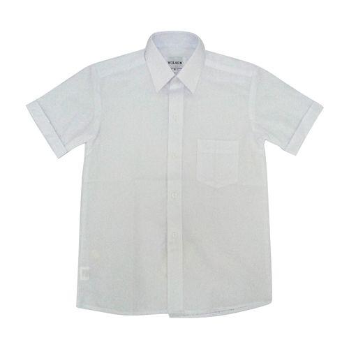 Camisa colegial niño g1 blanco mc