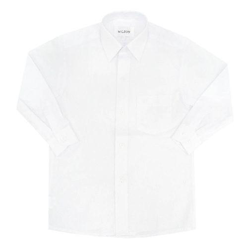Camisa colegial niño g1 blanco ml