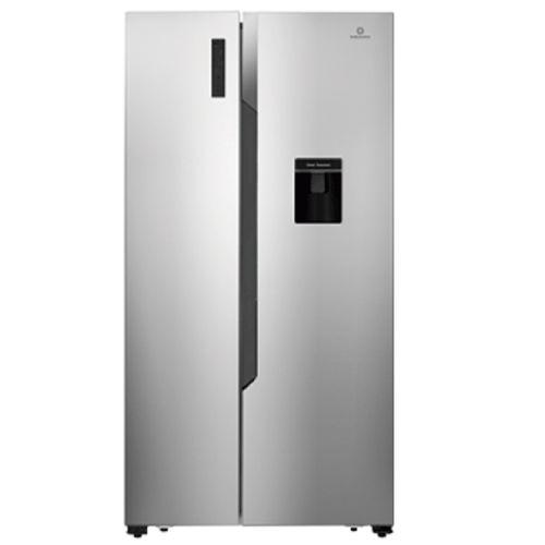 Refrigerador sbs 19 pc inox dispensador