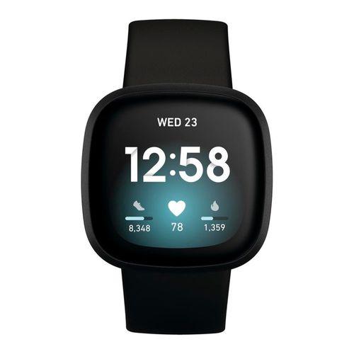 Reloj smartwatch versa 3 negro