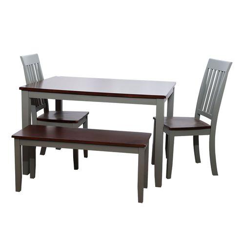Comedor  4 personas 2 sillas 1 banca