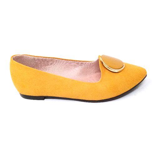 Ballerina amarilla pointy