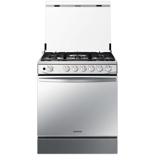 """Cocina Samsung a gas 30"""" acero inox espejo"""