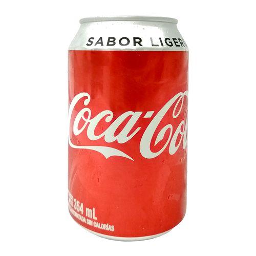 Coca cola ligth lata 354ml - 24uxc