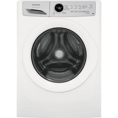 Lavadora premium care frigidaire 21 kg blanca
