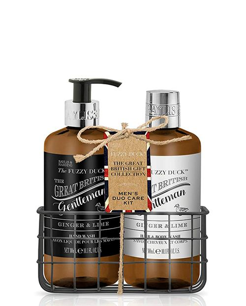 Set Men's Care Fuzzy Duck Ginger and Lime 300ml