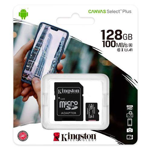 Memoria Micro sd 128gb canvas 2/1