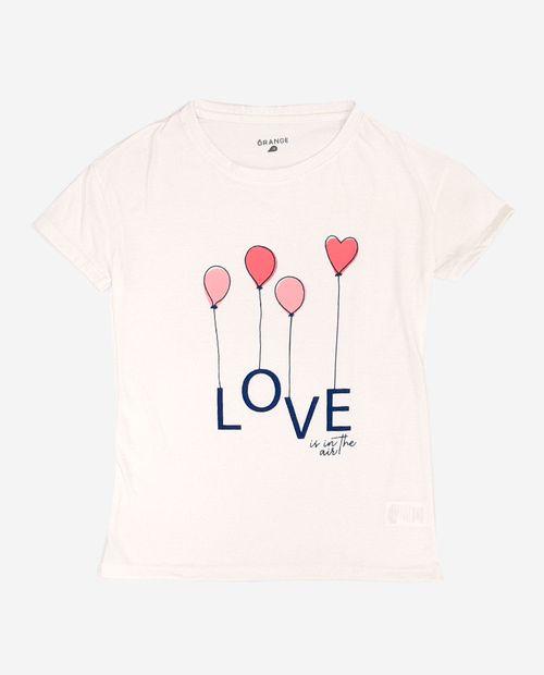 Camiseta prt love baloons d02 blanco
