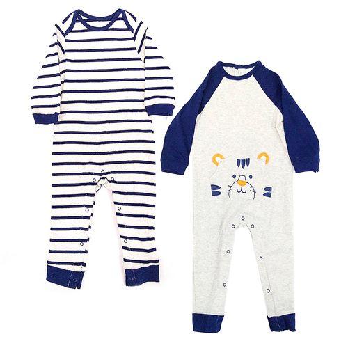 2pk rompers de tigre para bebé niño