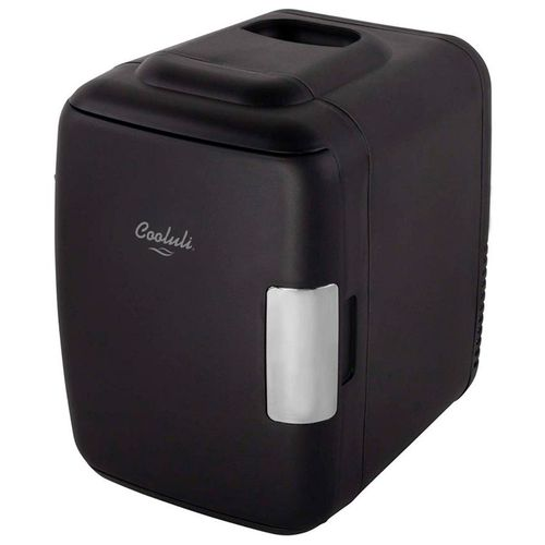 Mini refrigerador y calentador de nevera 4l negro