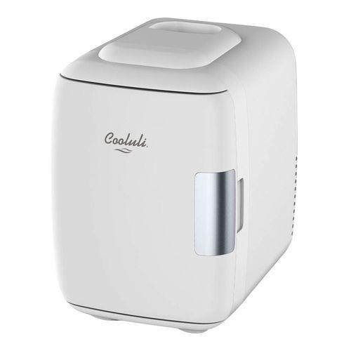 Mini refrigerador y calentador de nevera 4l blanco