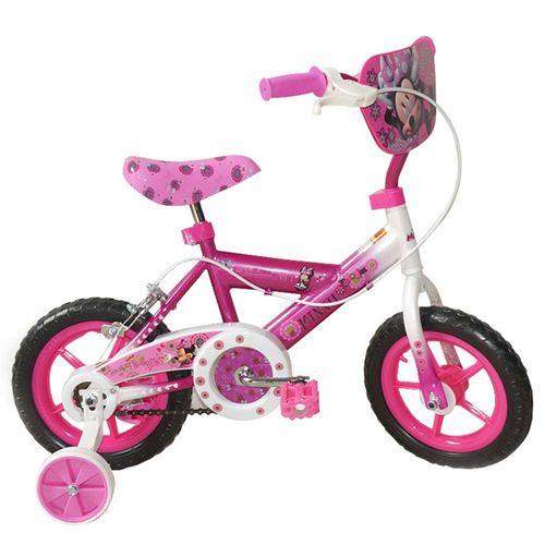 Bicicleta aro 12 de minnie 3 standard