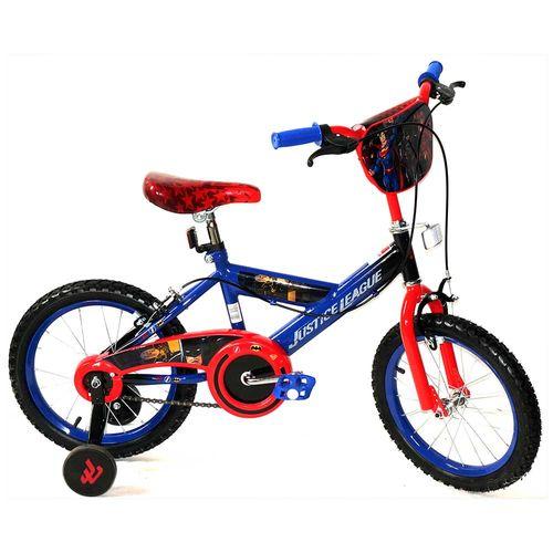 Bicicleta aro 16 de justice league 3 standard