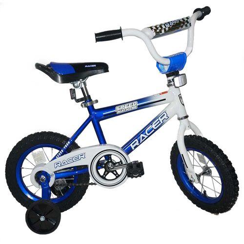 Bicicleta rin 12 azul racer