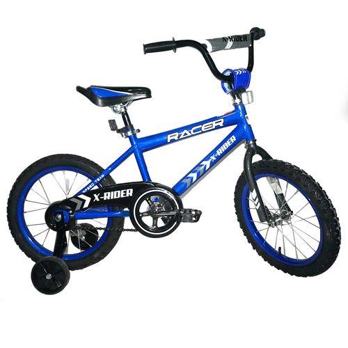 Bicicleta rin 16 azul racer