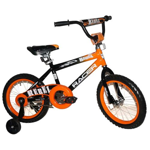 Bicicleta rin 16 naranja racer