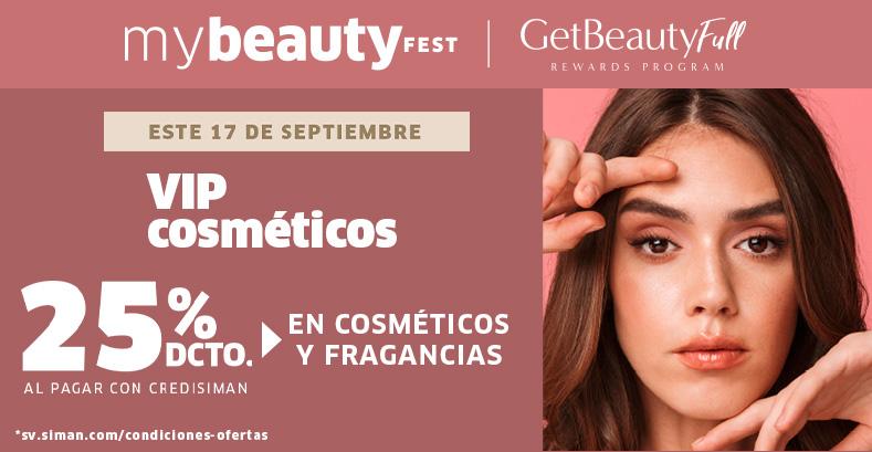 Beauty deals: 25% COSMÉTICOS Y FRAGANCIAS CON CREDISIMAN