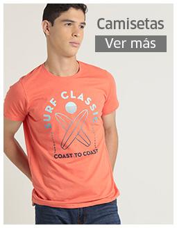 Camisetas para caballeros Orange