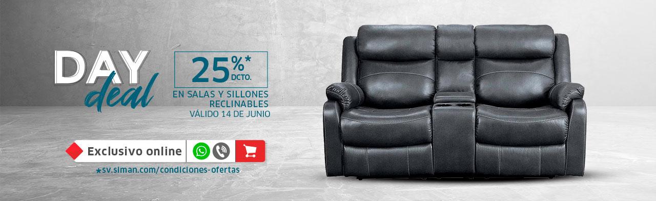 Day Deal Salas y Sillones
