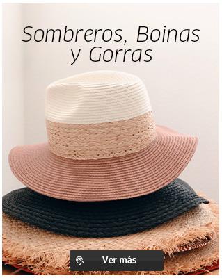 Sombreros, gorras y boinas