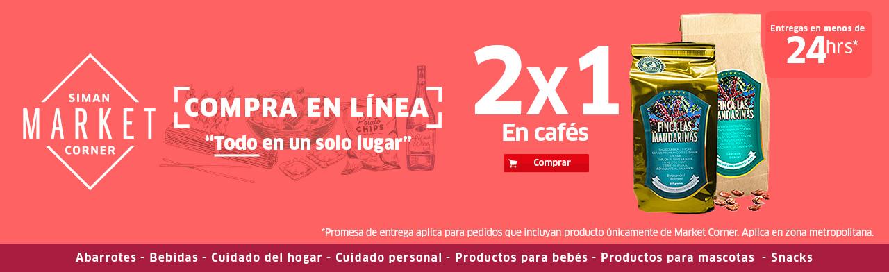Productos Café en Market Corner