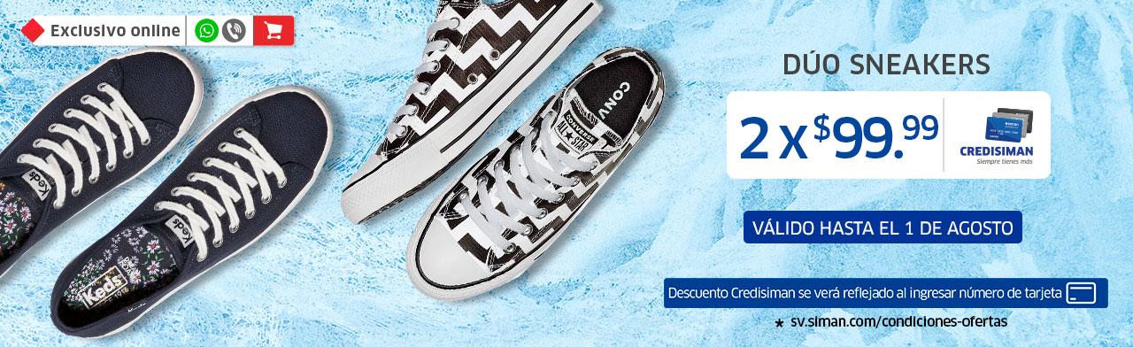 DÚOS Sneakers por $99.99