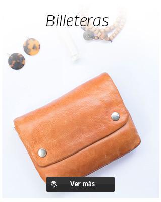 Bonitas billeteras de hombre y mujer