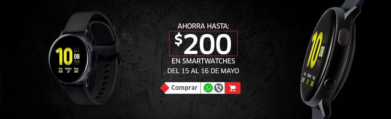 Ahorra $200 en Smartwatch