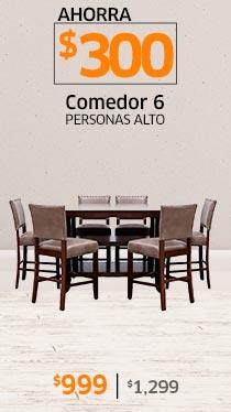 COMEDOR 6 PERSONAS