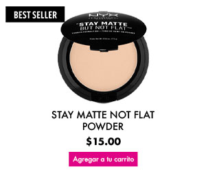 Maquillaje para rostro Stay Matte Not Flat Powder
