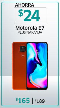 E7 PLUS NARANJA