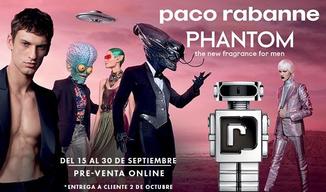 PRE VENTA EXCLUSIVA ONLINE: PHANTOM PACO RABANNE