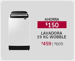 LAVADORA 19 KG