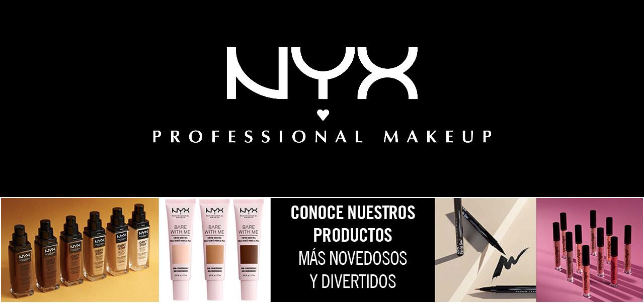Maquillajes NYX professional Makeup